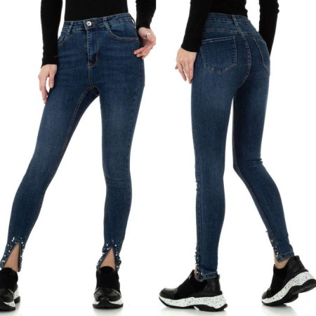 Jeans skinny slim fit elasticizzati effetto push up vita...