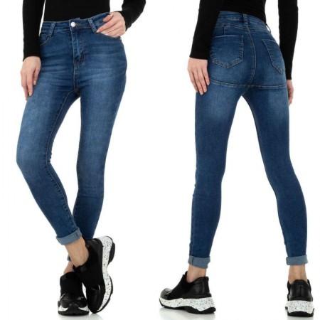 Jeans push up elasticizzati skinny effetto stinto vita...