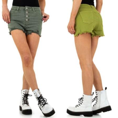 Pantaloncini di jeans shorts corti effetto push up con...