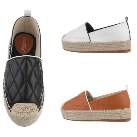 Ballerine espadrillas sneakers sandali ecopelle con zeppa...