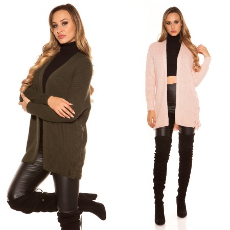 Maglione pullover felpa oversize sexy cardigan giacca...