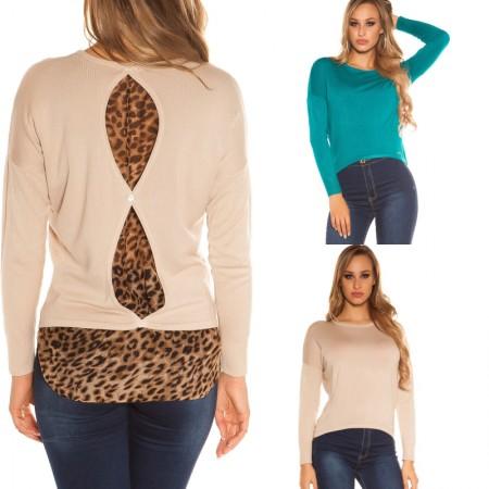 Maglione donna pullover felpa oversize inverno casual...