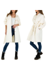 Cappotto lungo trench...