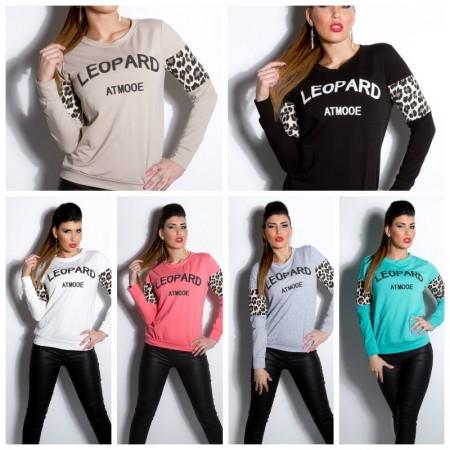 """Trendy e Comodo Maglione """"Leopard"""""""
