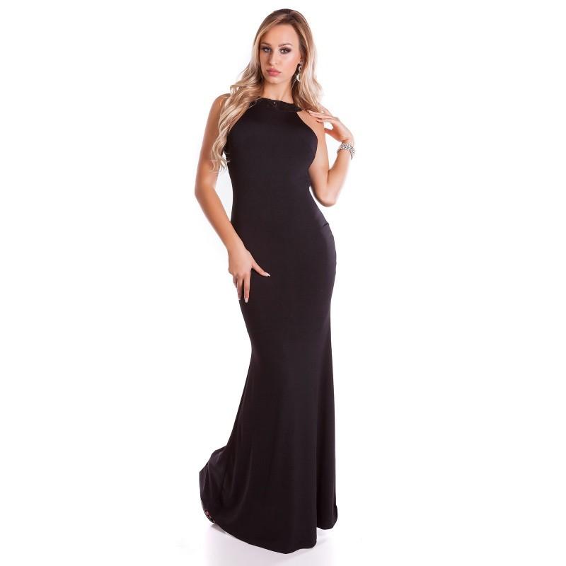volume grande fabbrica ultima collezione Abito Da Sera Lungo Red Carpet Elegante Con Sensuale schiena Scoperta  Glitter Strass