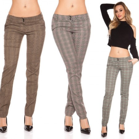Pantalone Donna a Quardi Brown Bicolors