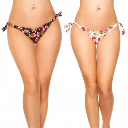 Bikini slip costume moda mare brasiliana triangolo con...