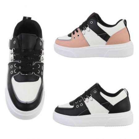 Sneakers casual in ecopelle...