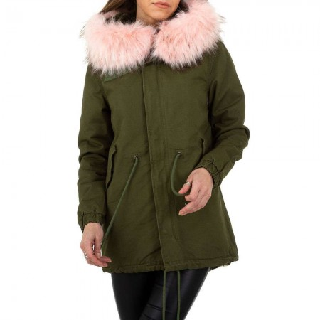Cappotto giacca donna trench con imbottitura in pile...