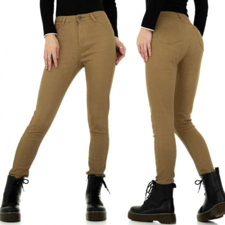 Pantaloni jeans donna con gambe slim a sigaretta modello...