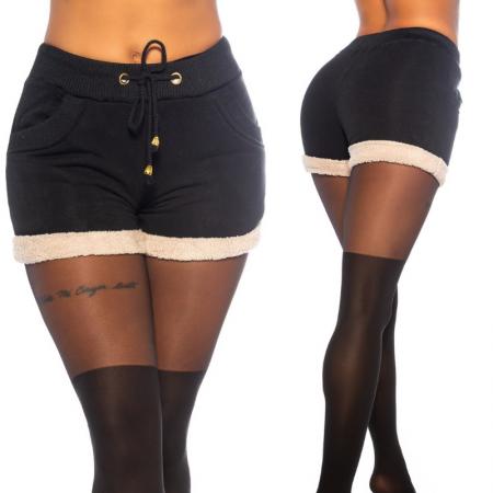 Pantalone pantacollant leggings pantaloncino shorts corto...